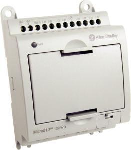Allen Bradley M810 CPU 8 12VFC/4 REL 12VDC