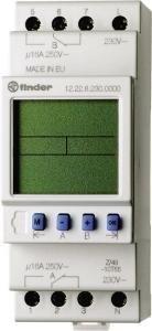 Rele FinderTIME SWITCH 2C/O 30MEM 24VAC/DC CONTROL