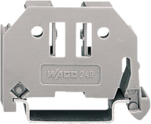 Wago - Genvic END CLAMP 6MM GREY DIN 35