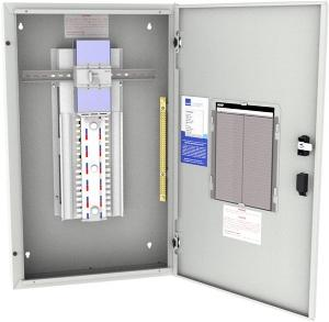 NHPC/ONE P/B DIN 24W 160A MSW 3M-648MM L/GY