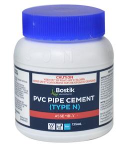 BostikPIPE CEMENT PVC TYPE N BLUE 125ML