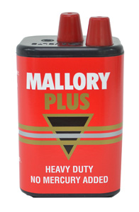 Duracell BATTERY 6V SPRING SIZE - LANTERN MALLORY