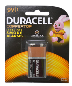 Duracell BATTERY 9V SIZE