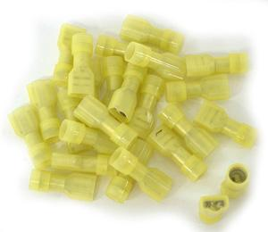 OmegaQUICK CONNECTOR F.I.D.G. 6.4-0.8 YELLOW