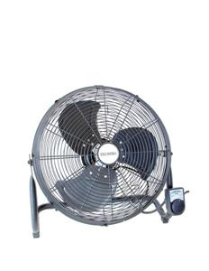 Techpro FLOOR FAN POWERFUL 450MM 3SPD BLACK