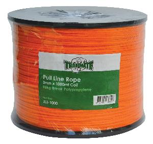 Picture of Trademate ROPE PULL LINE POLY 3MM X 1000M ORANGE