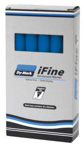 DYMARK MARKER PEN IFINE INK BLUE