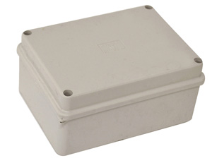 Omega ENCLOSURE POLY H150XW110XD70MM OPAQ IP66
