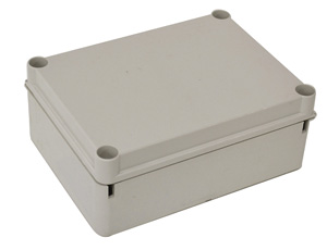 Omega ENCLOSURE POLY H190XW140XD70MM OPAQ IP66