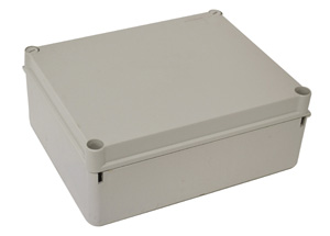 Omega ENCLOSURE POLY H240XW190XD90MM OPAQ IP66