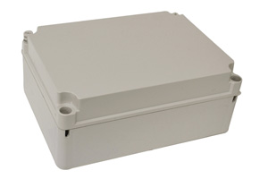 Omega ENCLOSURE POLY H300XW220XD120MM OPQ IP66