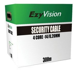 Omega CABLE SECURITY 4 CORE 14/020 300M WH BX