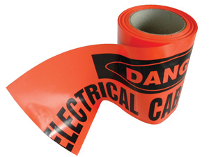 OmegaUNDERGROUND WARNING TAPE (50MT COIL)