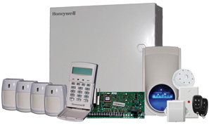 Omega HoneywellHONEYWELL 4 PIR ALARM HARD WIRED KIT