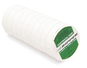 RipTAPE PVC 19MM X 20M ROLL WHITE