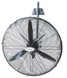 Techpro WALL FAN 3 BLADE 750MM BLACK