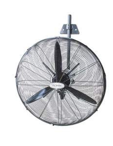 Techpro WALL FAN 3 BLADE 635MM BLACK