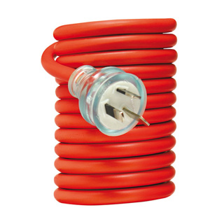 Trade Power EXTENSION LEAD 15A FOR CARAVANS 10M RED