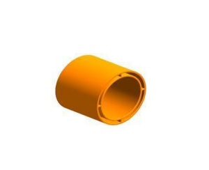 Plastic Bend FabricationsREDUCER 63-50MM ORANGE