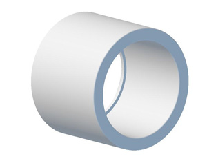 Plastic Bend FabricationsREDUCER 63MM TO 50MM