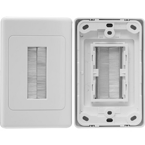 Radio Parts Group PRO1272 BRUSH WALL PLATE