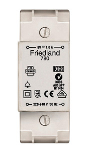 Friedland TRANSFORMER - DIN RAIL & SURFACE MOUNT