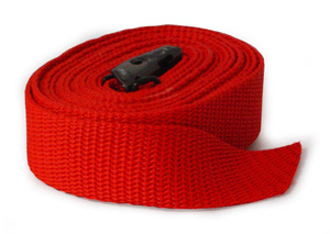 RepelecFASTY TRANSPORT STRAP 2.5MX25MM RED