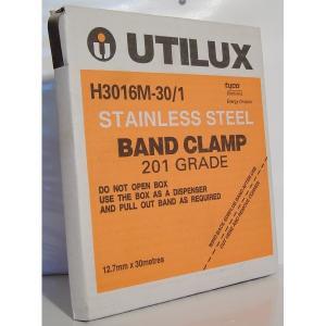 Utilux BAND CLAMP S/STEEL 30M 12.7MM MATT FINIS