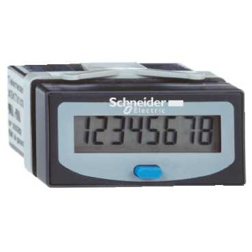 Telemecanique COUNTER 24X48 8 LCD VOLT FREE CONTACT