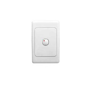 Clipsal TIMER ELECTRONIC PUSHBUTTON WHITE