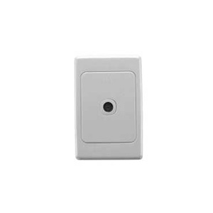 Clipsal TV OUTLET 75 OHM F TYPE CONN. WHITE