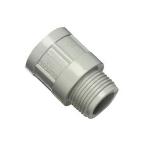 Clipsal ADAPTOR PLAIN TO SCREWED 25MM GREY