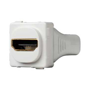 Clipsal MECH HDMI STRAIGHT REAR CONNECTION WHITE