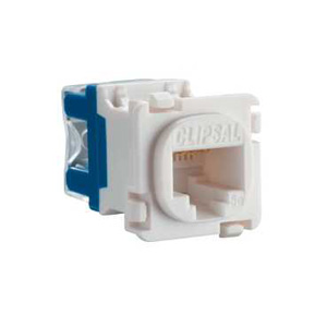 Clipsal MODULAR SOCKET CAT5E RJ45 WHITE