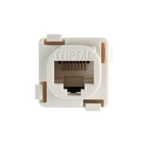 Clipsal SOCKET CAT6 568A/B MECH SOFT GREY