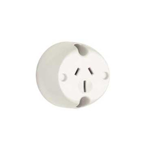 Clipsal SURFACE SOCKET 15AMP