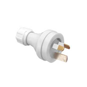Clipsal PLUG TOP 3PIN HD FL 15A 250V INS.PIN