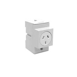 Clipsal SOCKET OUTLET 10A 3 PIN 2.5 MODULE WIDE