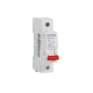 Clipsal ISOLATING SWITCH DIN MT.1 POLE 240V 80A