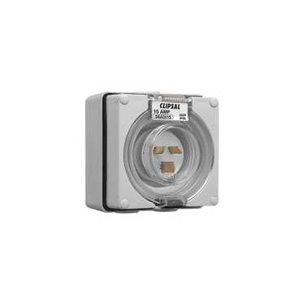 Clipsal APPLIANCE INLET 1PH 15A GREY