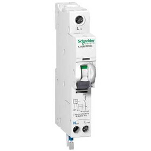Schneider Electric IC60H RCBO 1PPNS 20A C 30MA A 230V