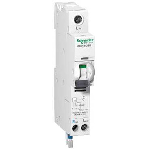 Schneider Electric IC60N RCBO 1PPNS 20A C 30MA A 230V