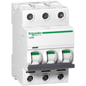 Schneider ElectricACTI9 IC60N 3P 32A C MINIATURE CIRCUIT B