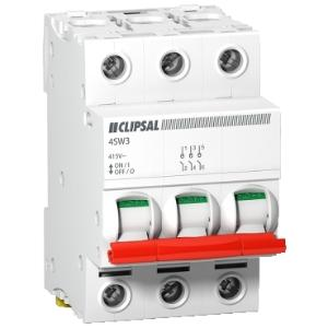 Clipsal ISOLATING SWITCH DIN MT.3 POLE 415V 100A