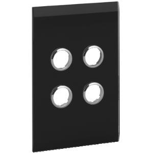 ClipsalGLASS FACIA ONLY FOR C-BUS 4G BLACK