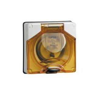 Clipsal APPLIANCE INLET 1PH 10A W/O BASE