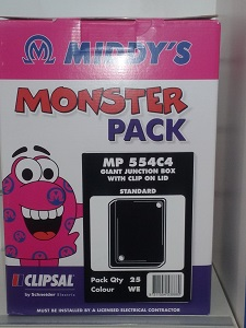 Middys MONSTER PACK (25 X 554C4-WE)