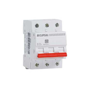 Clipsal MAIN SWITCH DIN RAIL 3P 440V 80A 10KA