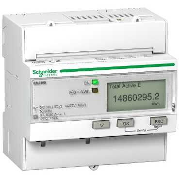 Schneider Electric TRIPHASE KWH METER 63A