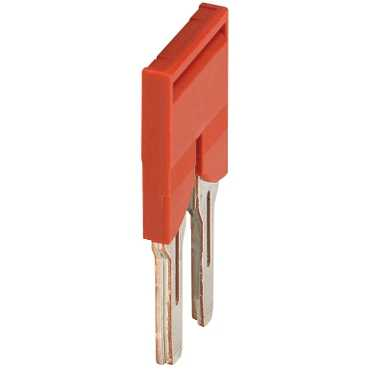 Schneider Electric PLUG-IN BRIDGE, 2PTS FOR 6MM TERMINAL
